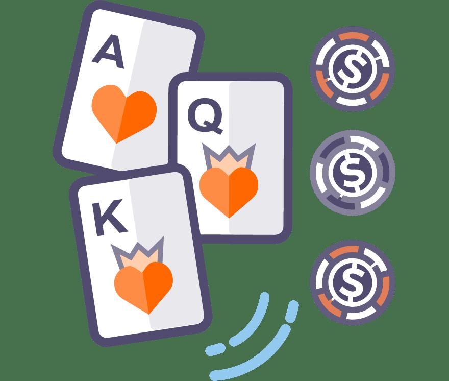 37  Kasino Seluler Poker Tiga Kartu terbaik pada tahun 2021