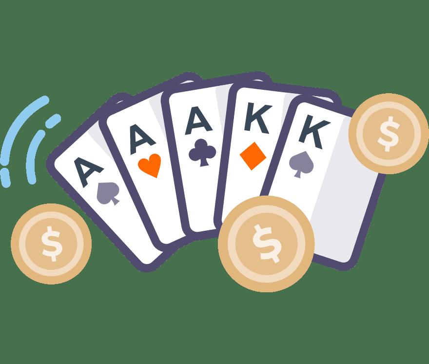 91  Kasino Seluler Poker terbaik pada tahun 2021