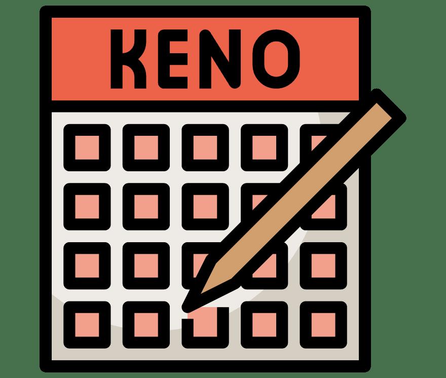 40  Kasino Seluler Keno terbaik pada tahun 2021