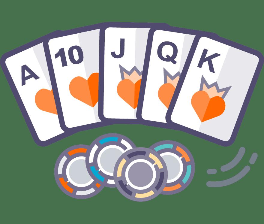 19  Kasino Seluler Texas Holdem terbaik pada tahun 2021